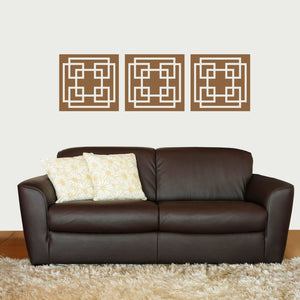 Mod Squares Vinyl Wall Decal