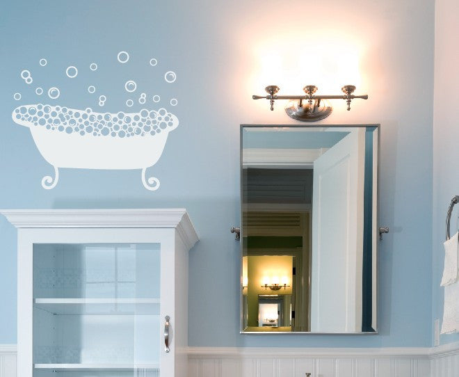 Relaxing bath 2 Vinyl Wall Decal