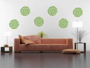 Floral Bloom Wall Decal Set