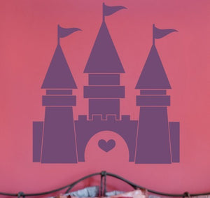Princess Castle Vinyl Wall Decal