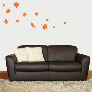 Falling Autumn Leaves Vinyl Wall Decal