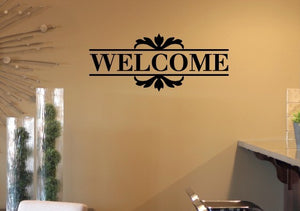 Welcome Vinyl Wall Decal