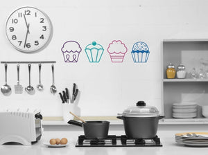 Cupcakes Vinyl Wall Decal
