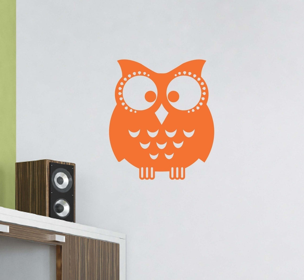Owl Vinyl Wall Decal