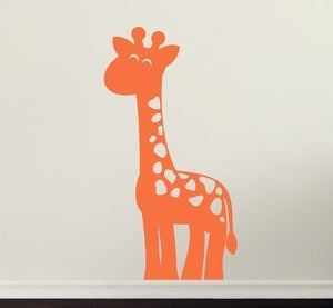 Giraffe Vinyl Wall Decal