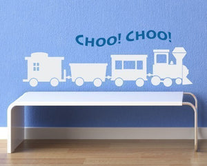 Choo Choo Train Wall Decal