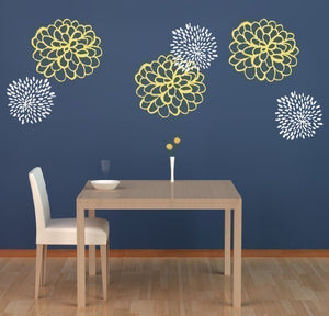 Studio Flowers Wall Decal Set