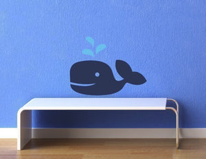 Maxie D. Whale Vinyl Wall Decal