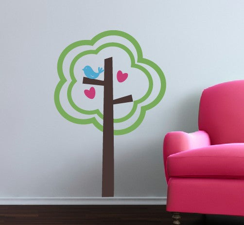 Tree of Love Vinyl Wall Decal