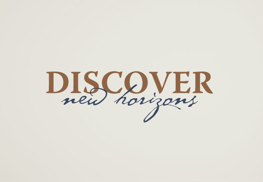 Discover New Horizons Wall Decal