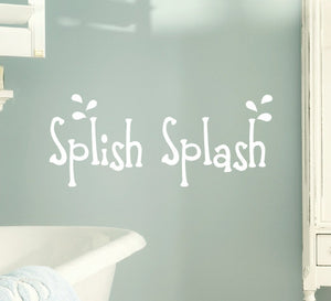 Splish Splash Vinyl Wall Decal
