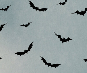 Flying Bats Vinyl Wall Decals - Set of 26