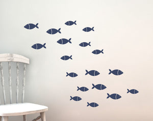 Fish Wall Decals - Sea Ocean Friends