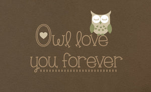 Owl Love You Forever Wall Decal - Small Set