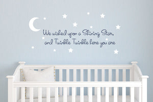 Twinkle Twinkle Wall Decal Set