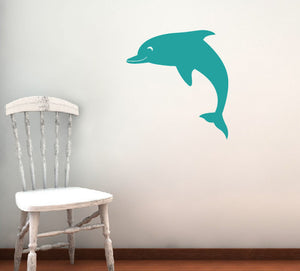 Dolphin Decal Wall Decal - Sea Ocean Friends
