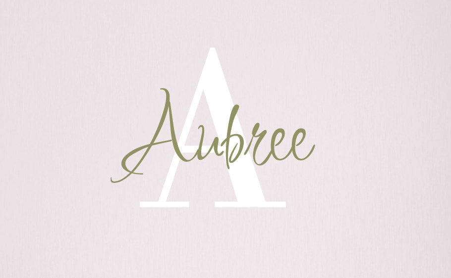 Name Decal Set with Monogram