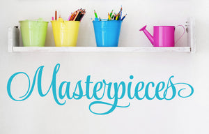 Masterpieces Wall Decal