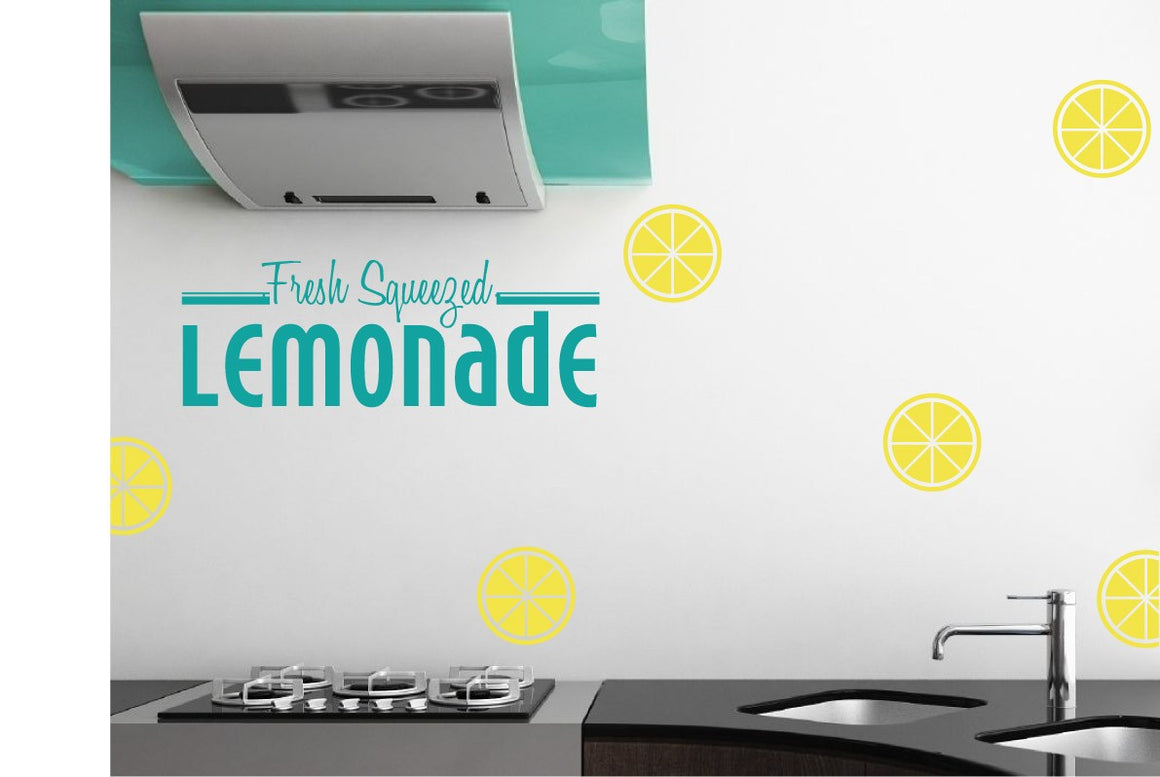 Fresh Squeezed Lemonade Vinyl Wall Decal