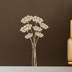Flower Bunch Vinyl Wall Decals