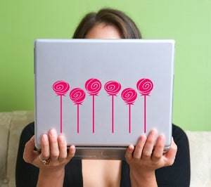 Roses Vinyl Laptop Decal
