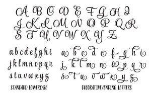 font example