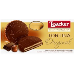 Loacker's Chocolate Wafer 'Tortina' biscuits