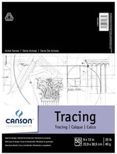 Load image into Gallery viewer, Tablet of 50 sheets of tracing paper - Canson