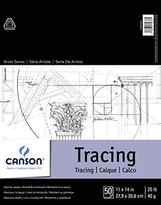 Tablet of 50 sheets of tracing paper - Canson