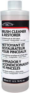 Winsor and Newton restaurateur pinceaux acrylique