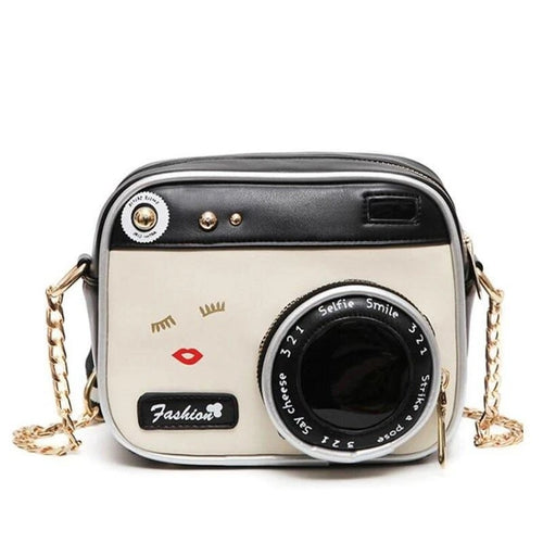 The Retro Camera Handbag