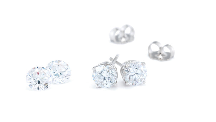 Diamond Studs - Lab Grown (Certified)