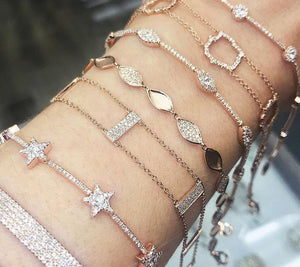Style Photo of Bracelets Layered or Stacked