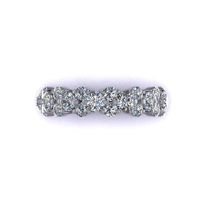 Diamond Garland Band (~2 ct)