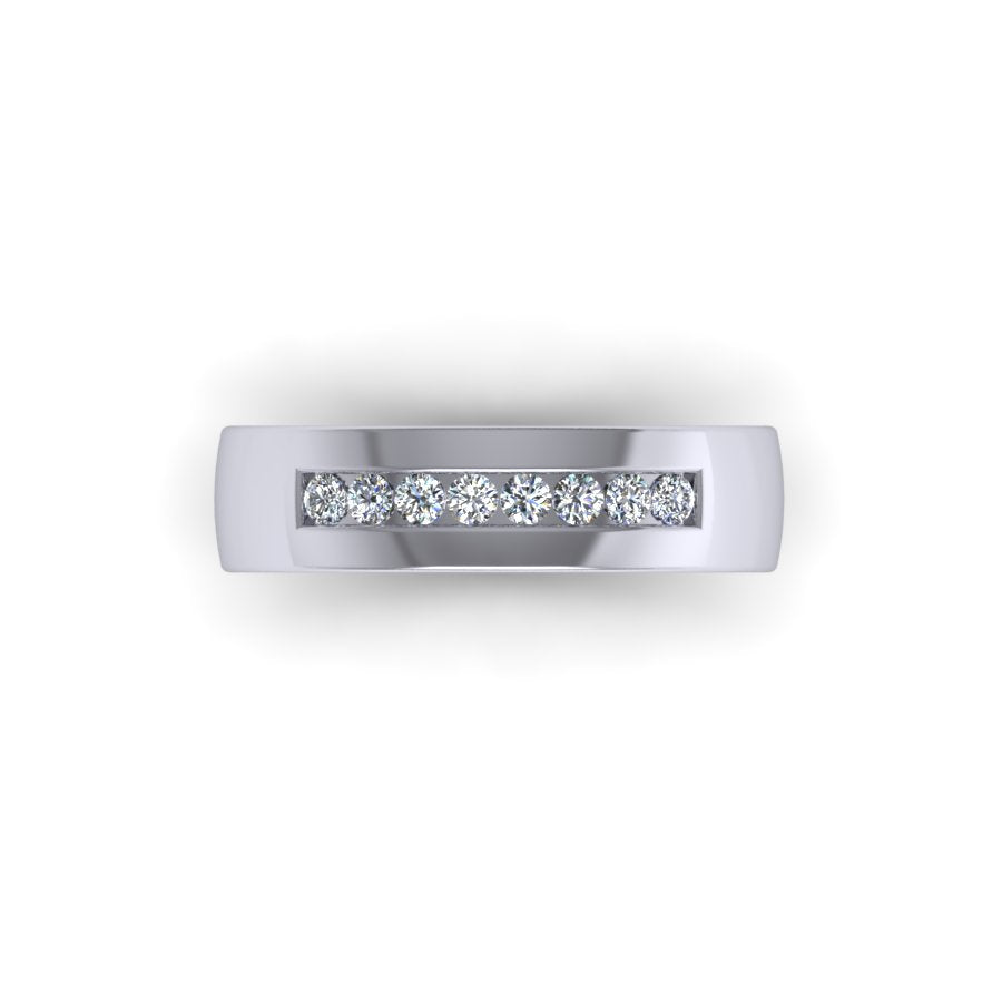 Men's 8 Diamond Band