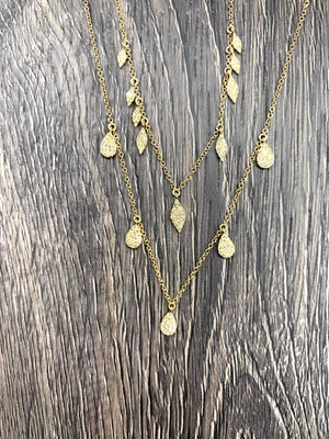 Marquise Drop Necklace
