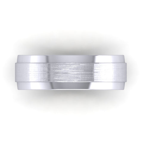 """Karlson"" Men's 2 Tone Ring"