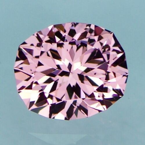 Natural Custom Cut Blush Pink/Rose Malaya Garnet (1.22 ct)