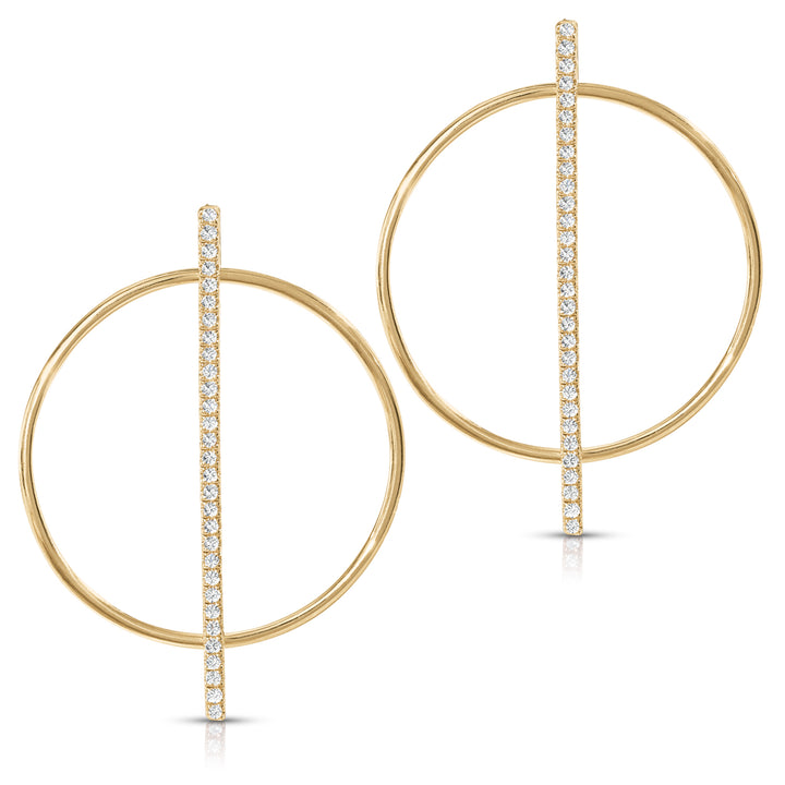 Phi: Golden Ratio Earrings