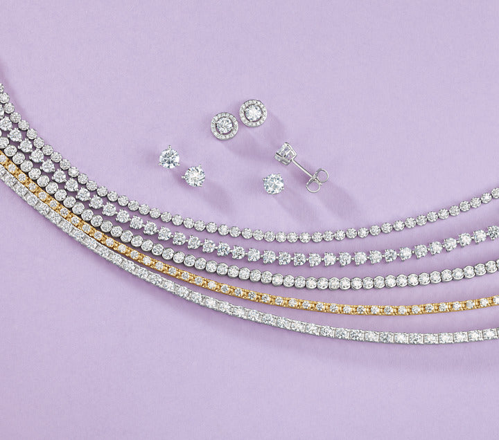Diamond Line Tennis Bracelet (Natural AAAA Diamonds 7.95 ct)