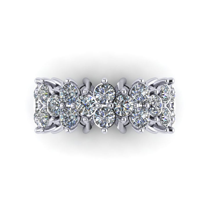 Diamond Garland Band (~4 ct)
