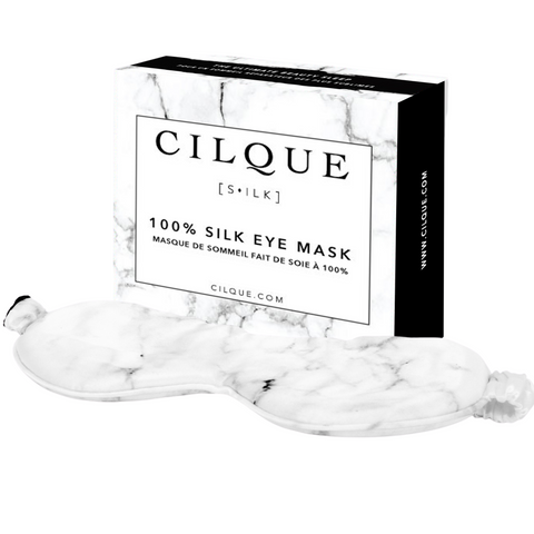 Marble - 100% Silk Eye Mask