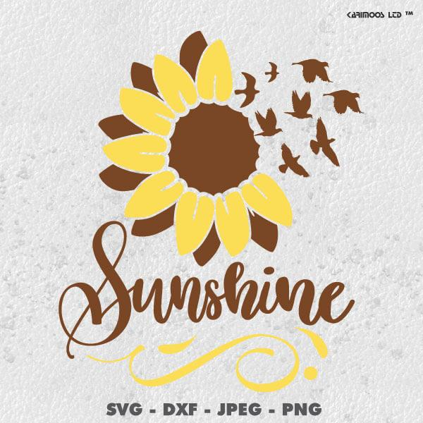 SunFlower Sunshine SVG SVG MS Studio