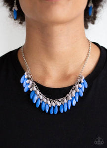 Bead Benge blue necklace