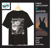 "Load image into Gallery viewer, The ""Farias Surf & Sport"" South Jersey Tee"
