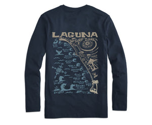 "The ""Laguna Beach"" L/S Tee"