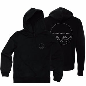 "The ""Locals For Laguna Beach"" Hooded Pullover"