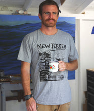 "Load image into Gallery viewer, The ""Bare Wires Surf Shop"" North Jersey Tee"