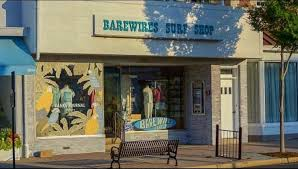 "The ""Bare Wires Surf Shop"" North Jersey Tee"