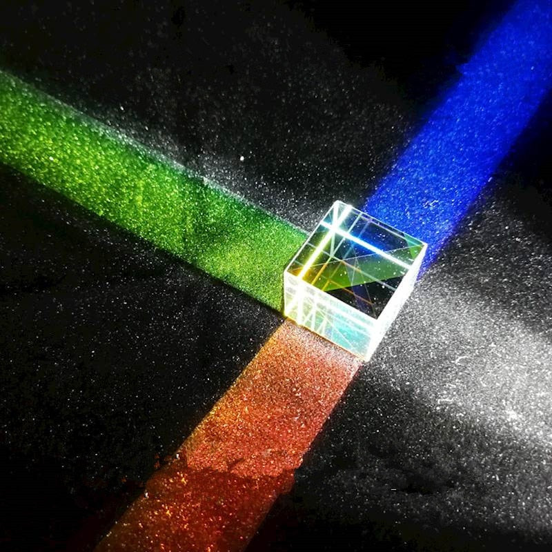 Six-sided Optical Prism Cube